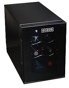Koolatron WC06 Wine Cellar (6 Bottle), Black