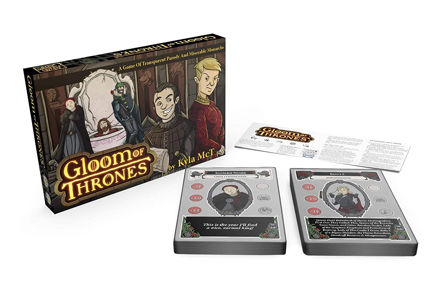 Atlas Games ATG1335 Gloom of Thrones, Multicolor alfonbrilla para ...