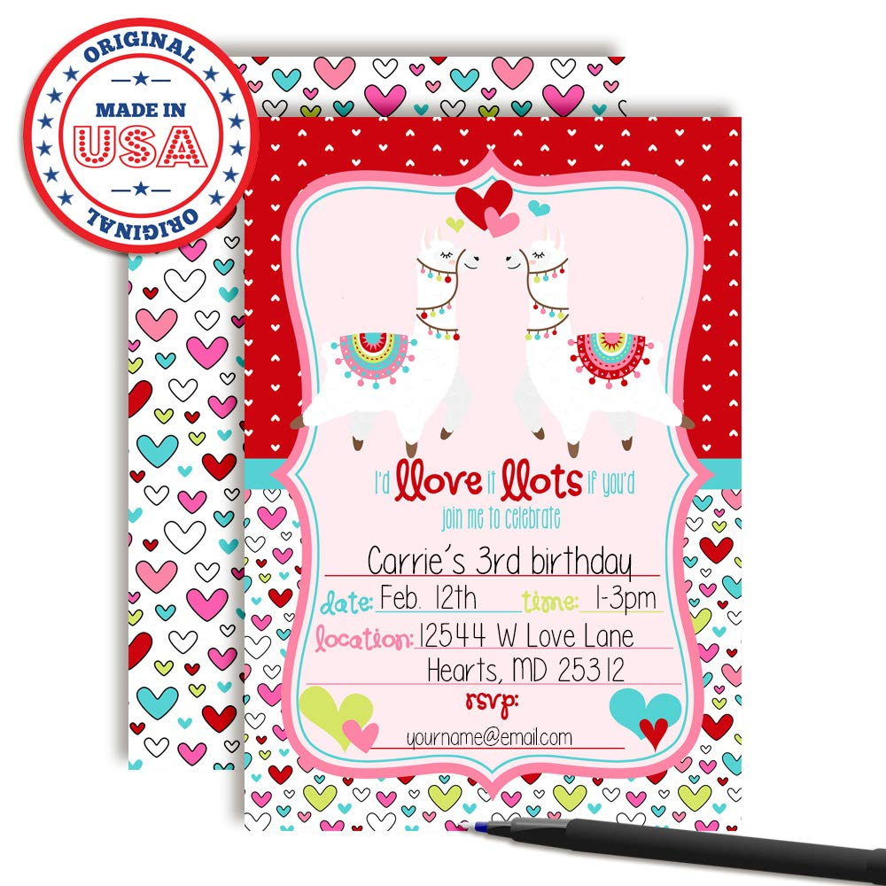 Amazon Llamas In Love February Valentine Birthday Party