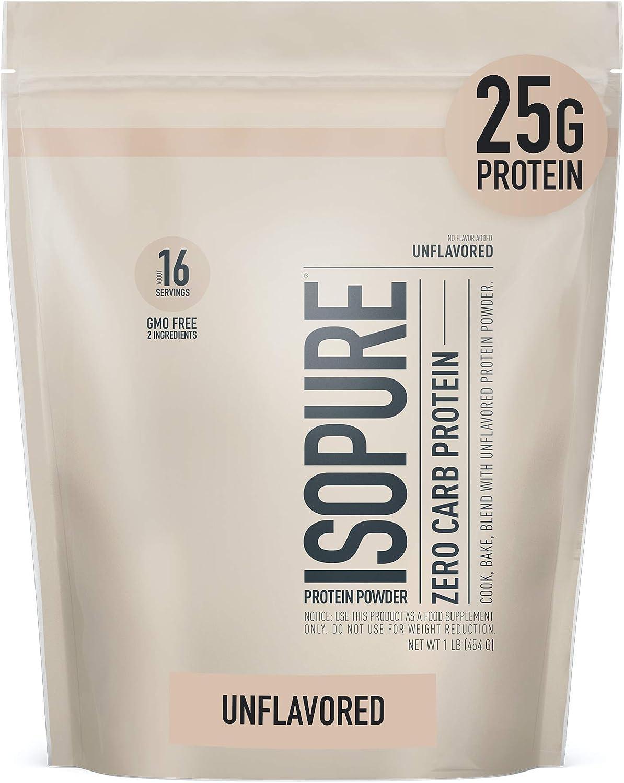 Zero Carb Protein Powder 454 g Banana Cream 1 lb