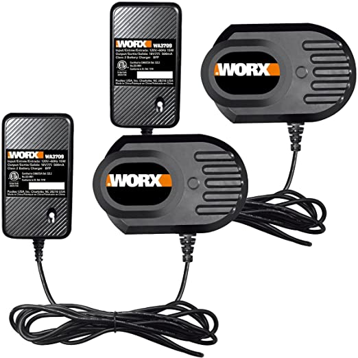 Worx (2 Pk) wa3709 18 V cargador de bate WG150 WG152 wg250 ...