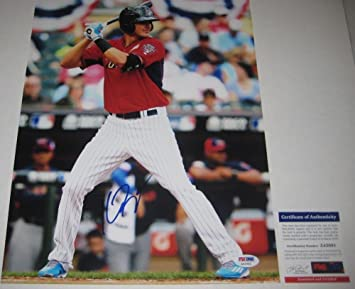 26f44b47e Autographed Kris Bryant Signed Chicago Cubs 11x14 Photo - PSA DNA Certified