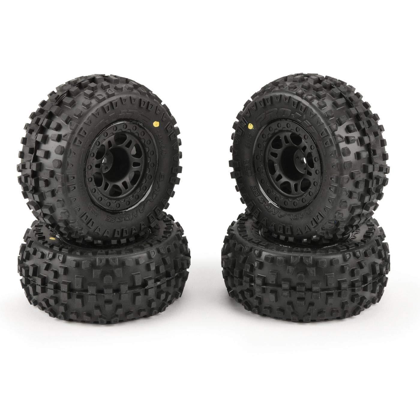 Pro-line Racing Badlands SC 2.2'' 3.0'' Tires MTD (4) Slash 2wd Front/Rear, PRO118230