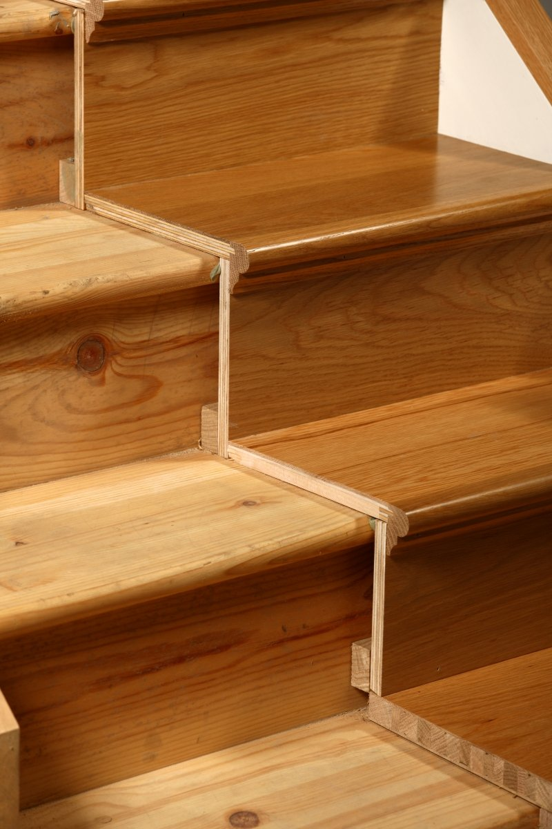 Tread Stair Refurbishment Kit   Oak   Prefinished (25 Pieces): Steps And  Risers: Amazon.co.uk: Kitchen U0026 Home