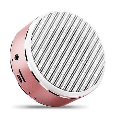 WO NICE Altavoz Bluetooth Mini Tarjeta De Sonido Pantalla ...