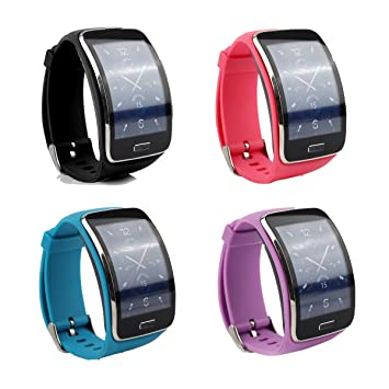 Cute Replacement Wristband Bracelet/Wireless Smartwatch Accessory Band Strap with Secure Buckle for Samsung Galaxy Gear S R750 Smart Watch - Free ...