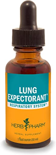 Herb Pharm Lung Expectorant Liquid Herbal Formula to Support Respiratory Immune Response – 1 Ounce