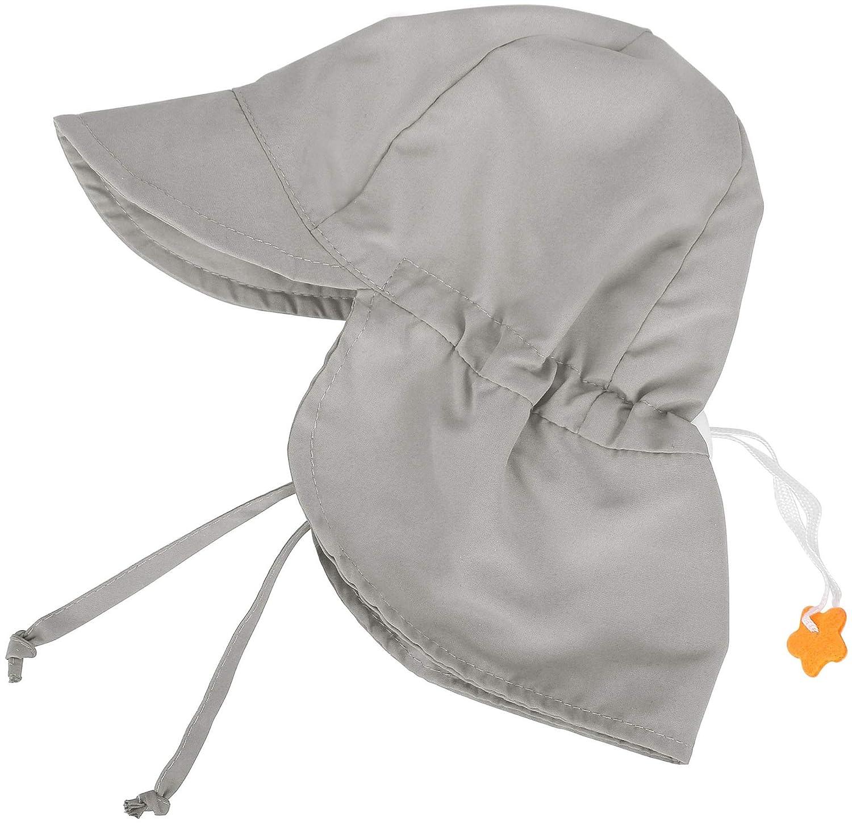 b3aa6b187 SimpliKids UPF 50+ UV Ray Sun Protection Baby Hat w/Neck Flap & Drawstring