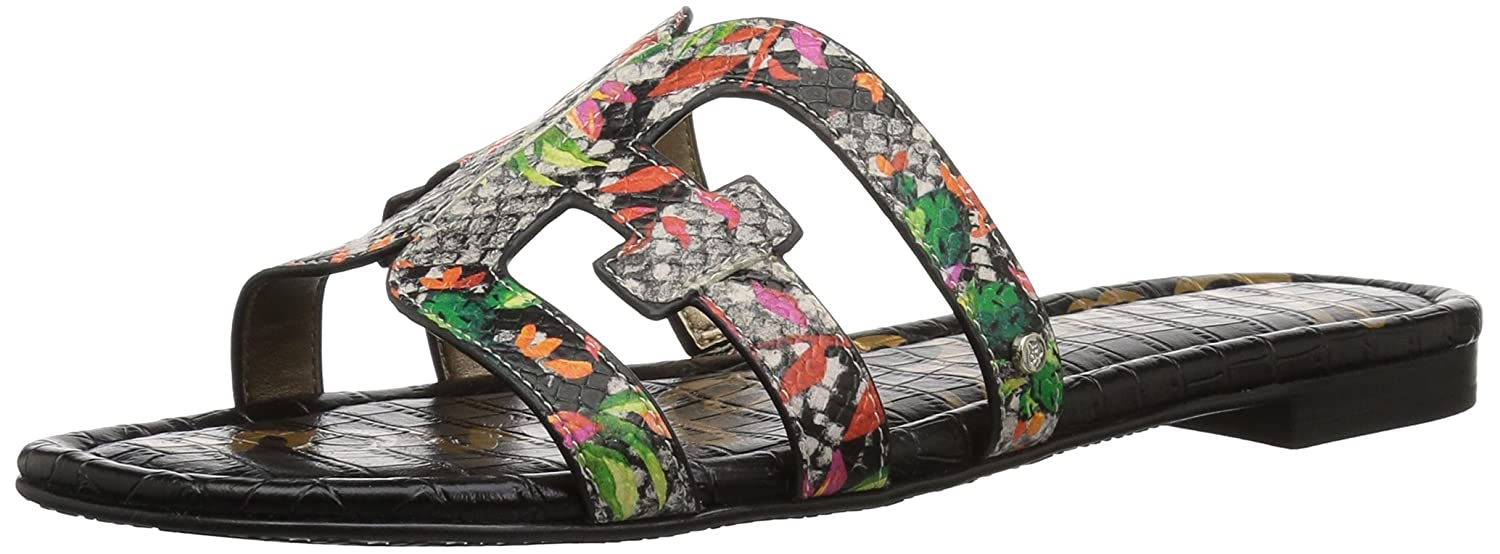 Sam Edelman Women's Bay Slide Sandal B0762T19K6 8.5 B(M) US|Bright Multi Blooming Cactus