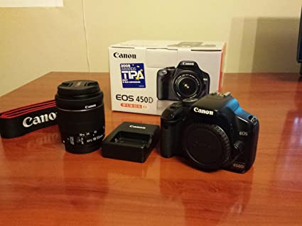 Canon EOS 450D/ES - Cámara Réflex Digital 12.2 MP (Objetivo EF-S ...