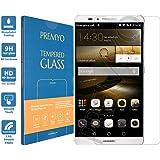 PREMYO verre trempé Mate 7. Film protection Huawei Mate 7 avec un degré de dureté de 9H et des angles arrondis 2,5D. Protection écran Mate 7