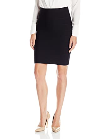 92c95f66a Amazon.com  BCBGMAXAZRIA Women s Alexa Bandage Skirt  Clothing
