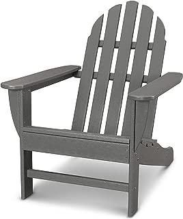 product image for Ivy Terrace IVAD4030LI Classics Adirondack Chair, Slate Grey