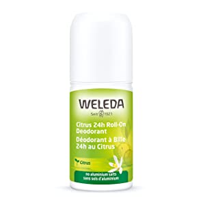 Weleda 24 Hour Roll-On Deodorant, Citrus, 1.7 Fluid Ounce