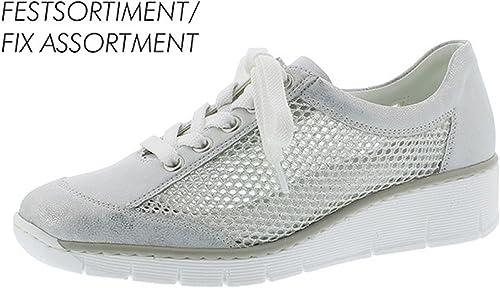 Rieker 537PO Sneaker Blanc: : Chaussures et Sacs