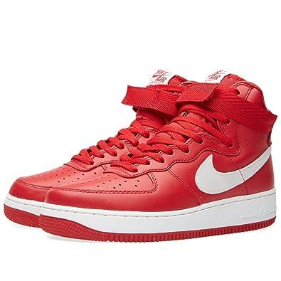 Nike Air Force One Rot Weiß