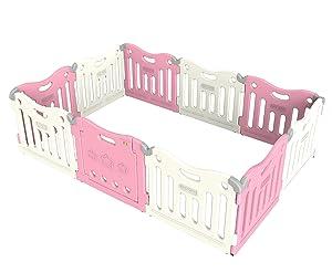 Baby Care Play Mat Pen (Pink)