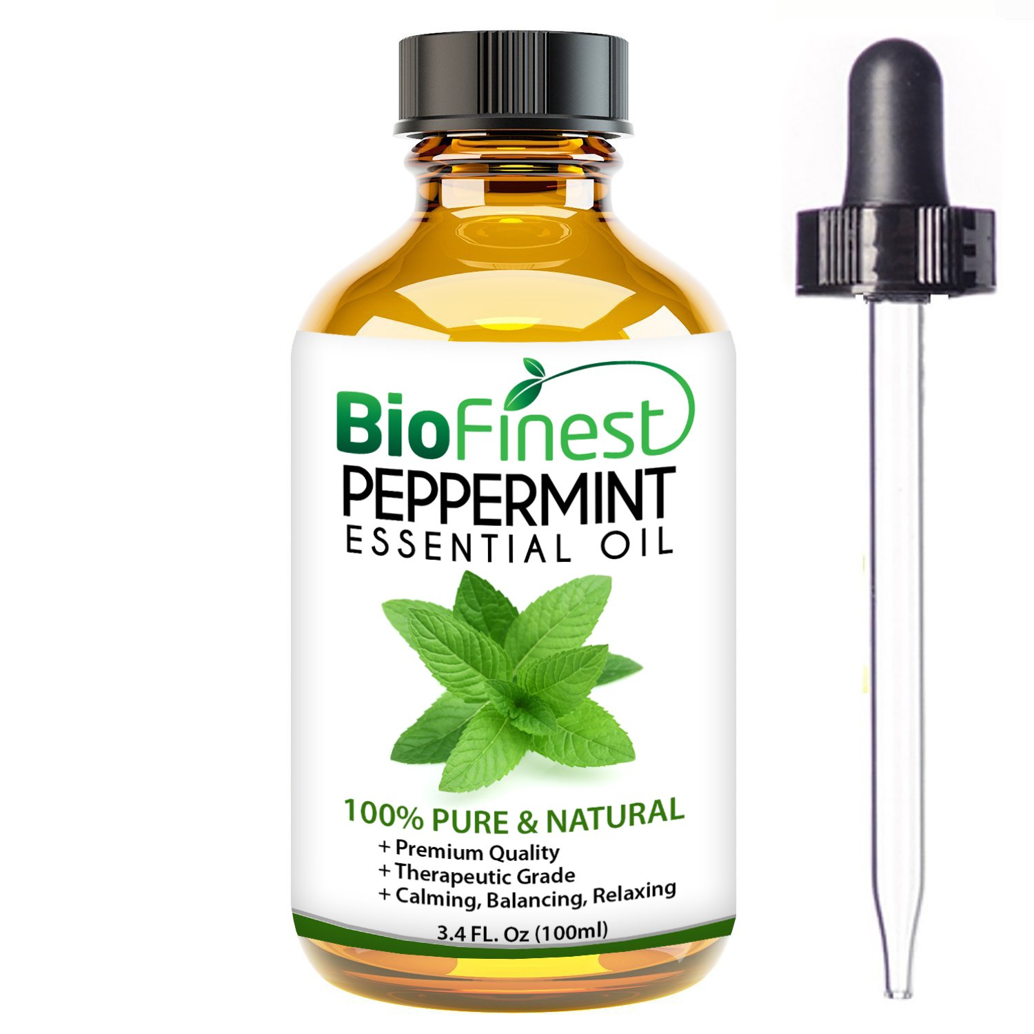 Amazon.com: BioFinest Peppermint Oil - 100% Pure Peppermint Essential Oil - Therapeutic Grade - Premium Quality - Best For Aromatherapy, Headaches and ...
