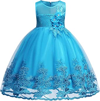 Royal Blue Christening Flower Girl Bridesmaid Pageant Diamante Party Dress 0-24m