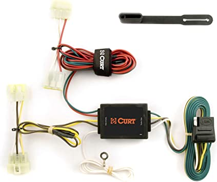 Amazon.com: CURT 55379 Vehicle-Side Custom 4-Pin Trailer Wiring Harness for  Select Toyota Pickup Trucks, Tacoma: AutomotiveAmazon.com