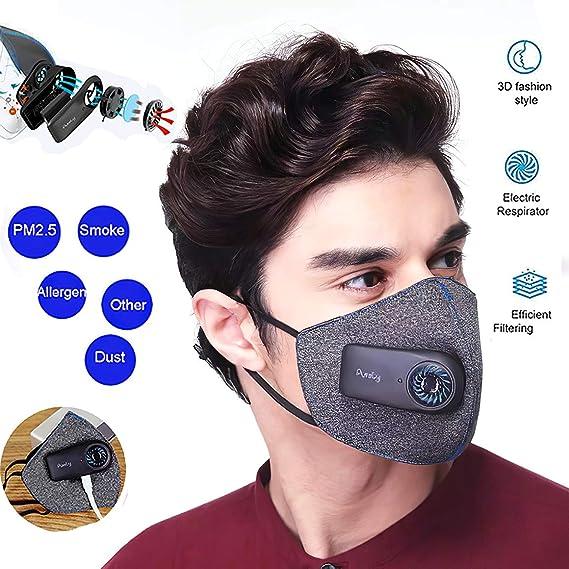 XIAOKUKU Filtro Inteligente de Protección Oral, Filtro de carbón ...