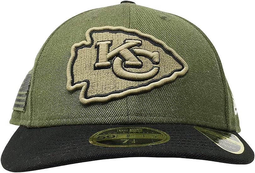 NEW Era 59 Fifty Cap-GRAPHITE Kansas City Chiefs