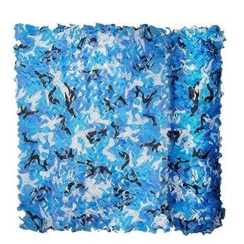 Red de camuflaje XUE para niños, de 3 x 2 m; hecha con tela