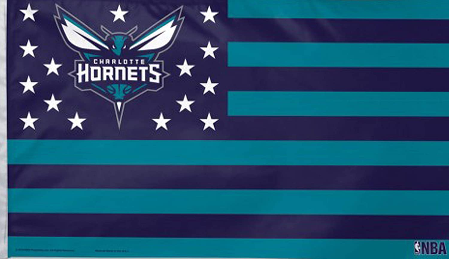 One Size WinCraft NBA Charlotte Hornets Flag3x5 Flag Team Colors