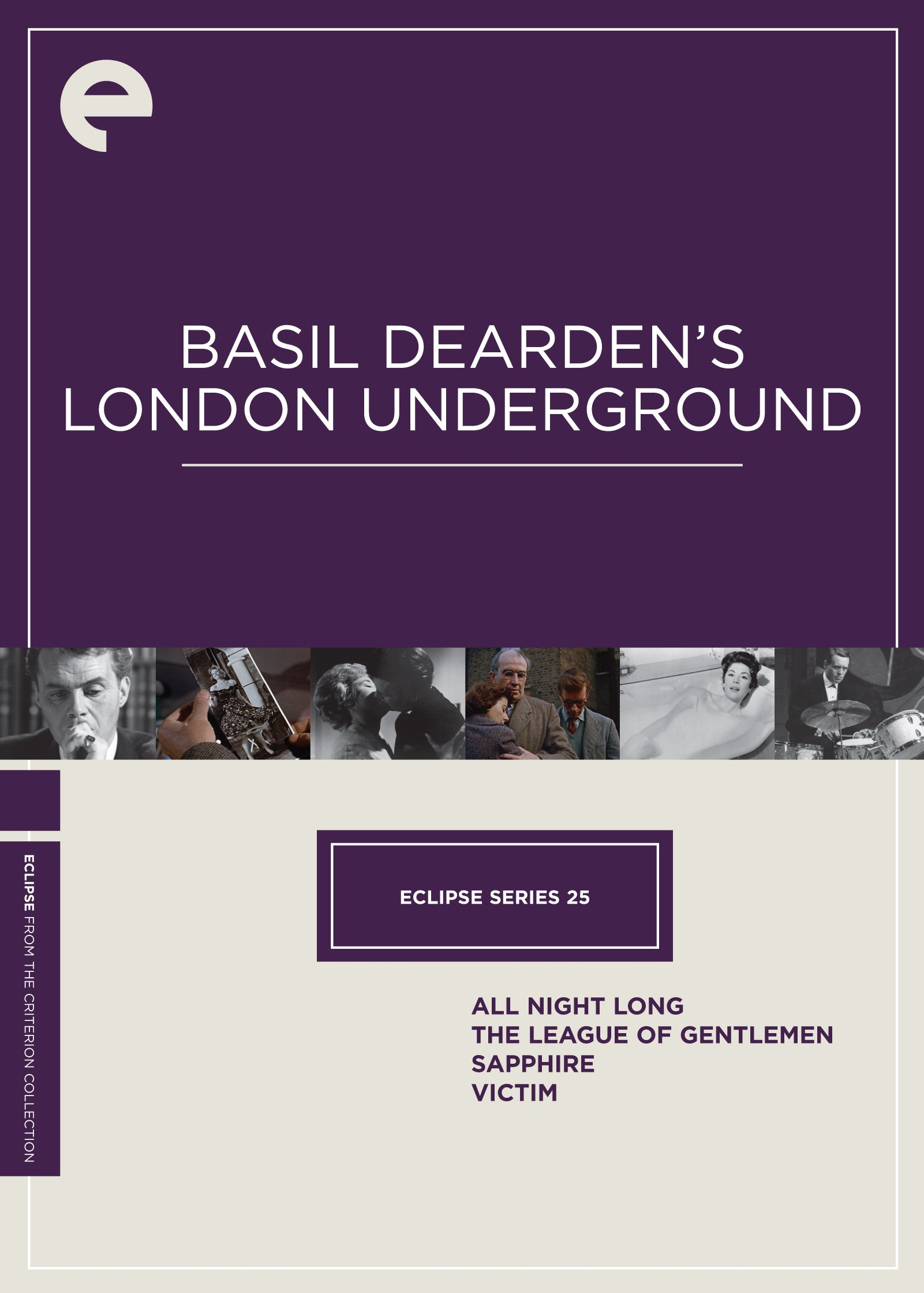 Eclipse Series 25: Basil Dearden's London Underground (Sapphire / The League of Gentlemen / Victim / All Night Long) (The Criterion Collection) by Criterion