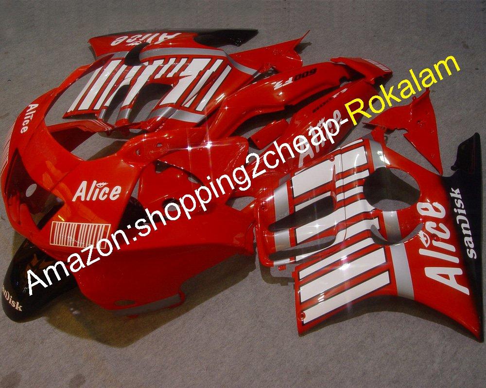 ホットセールス、新リリース オートバイアクセサリー ために ホンダ CBR600 F3 1997 1998 CBR600F3 CBR 600 97 98 ボディワーク バイクフェアリング (射出成形)   B079N3YCGP