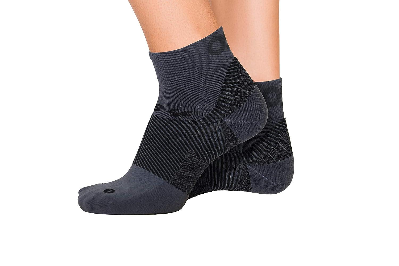 taglia L una coppia nero La prima calza a compressione graduata brevettata per il trattamento di fascite plantare e tallonite Orthosleeve FS4