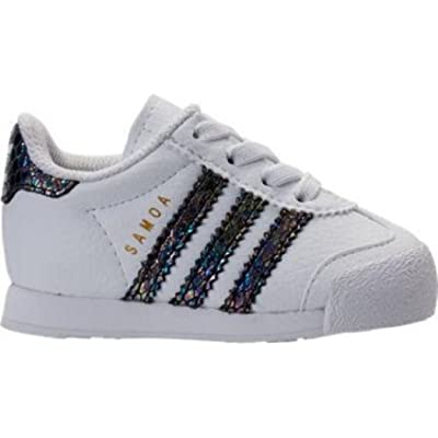 adidas Originals Samoa I Snake Fashion Sneaker (Infant/Toddler), 9K US Toddler