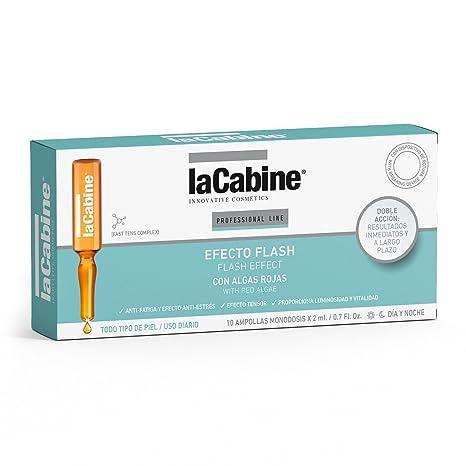 La Cabine Ampollas - Efecto Flash - Tratamiento Belleza Facial Reafirmante para el Cansancio y la