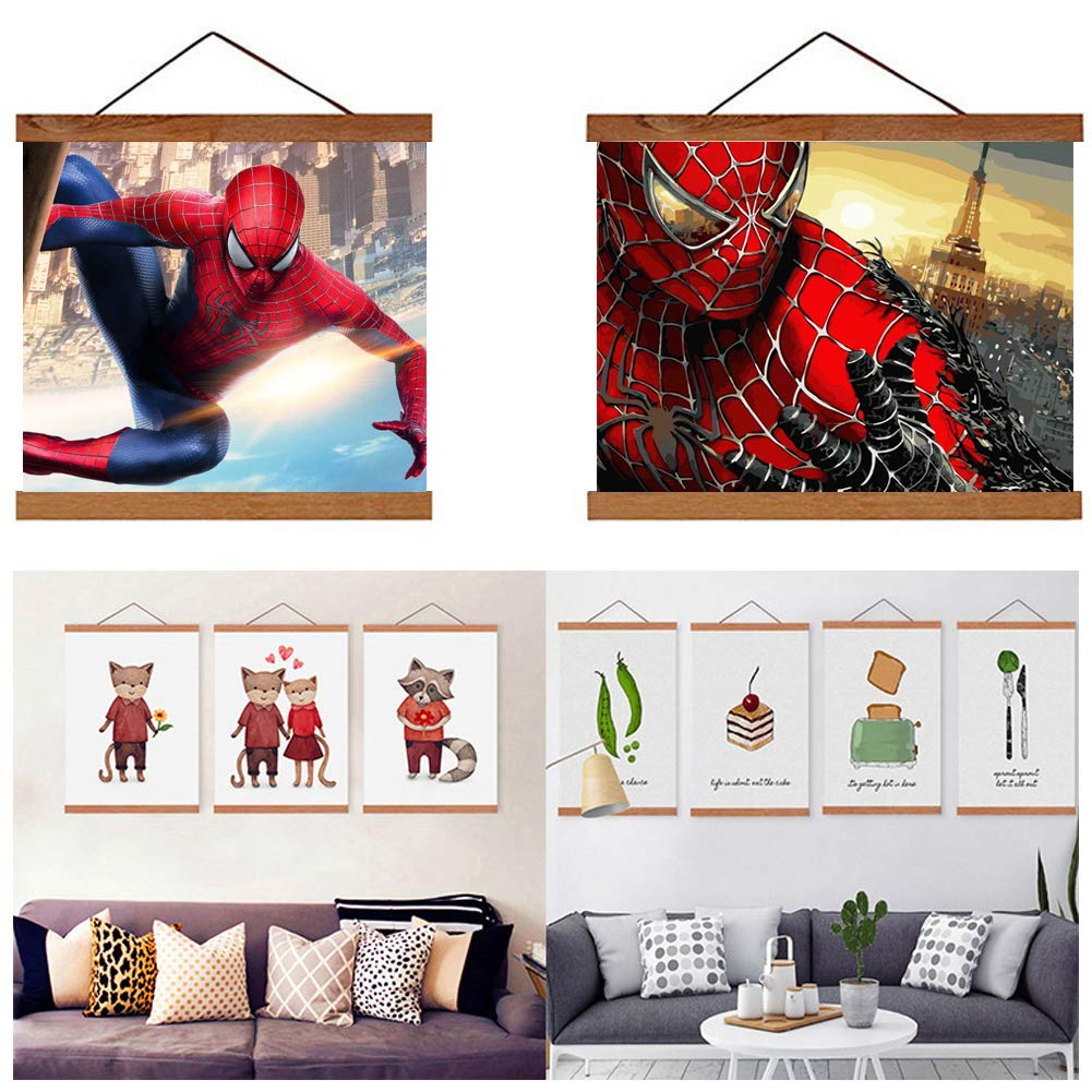 DIY 5D Spiderman Diamond Painting by Number Kits,Crystal Rhinestone Diamond Embroidery Paintings Pictures Arts Craft for Home Wall Decor (Spiderman 2, 30 x 40 cm)