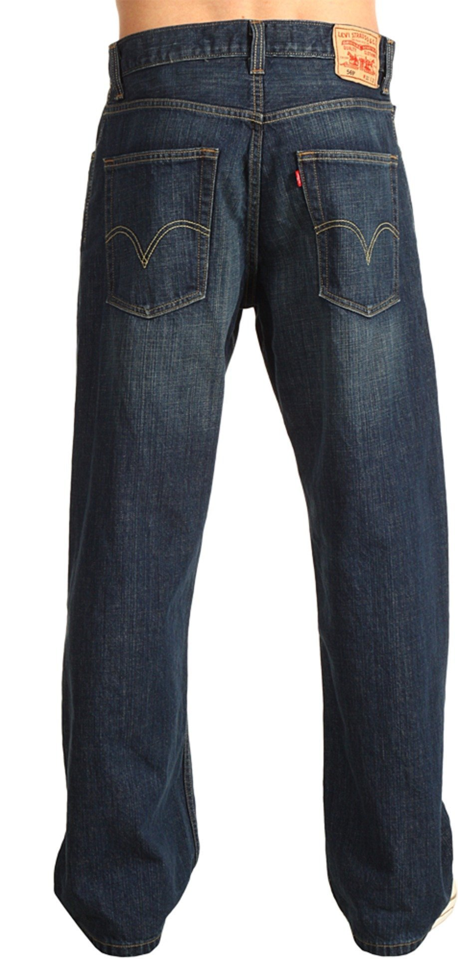 Levi's  Men's 569 Loose Straight Jean, Dark Chipped, 36x30