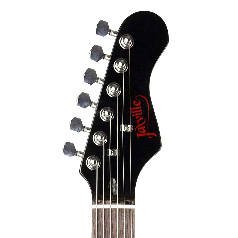 Paquete de guitarra eléctrica estilo Jaxville Demonio ST: Amazon.es ...