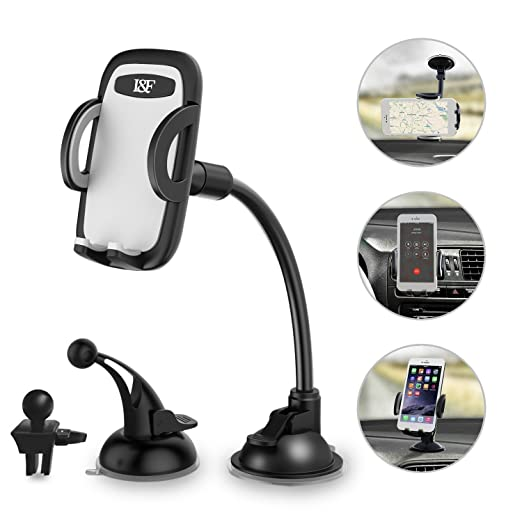 Review Car Phone Holder 3-in-