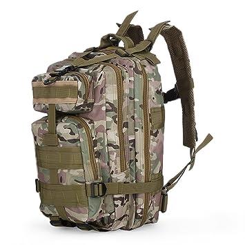 Hombres Mujeres Outlife acampar al aire libre Senderismo mochila 3P del ejército militar táctico Deporte Trekking Mochila mochila de viaje mochilas,Cp ...
