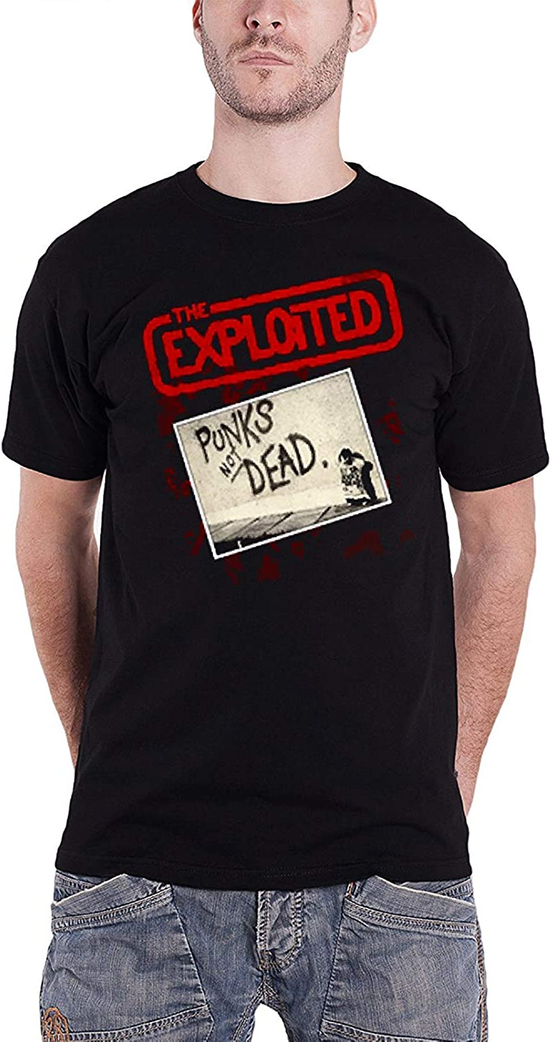 NEW /& OFFICIAL! The Exploited /'Punk/'s Not Dead/' T-Shirt