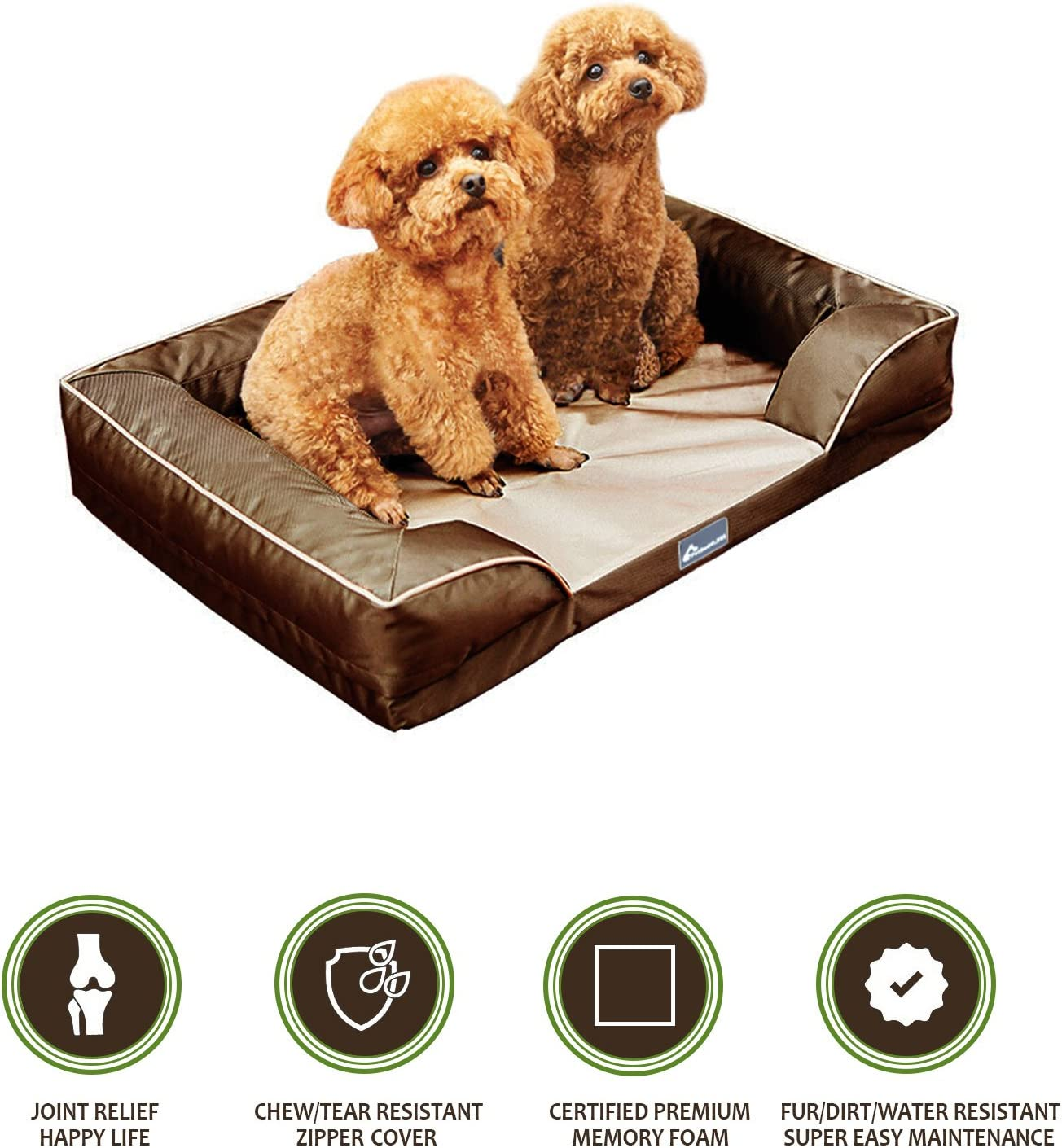 Realtree Extra Large Tufted Pet Bed – Max-4 Camouflage
