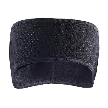 2b8a918576cdce AYPOW Fleece Ohrwärmer Stirnband, Leichte, warme Full Ear Ohrenschützer  Wintersport Stirnbänder Laufschweißbänder für Erwachsene