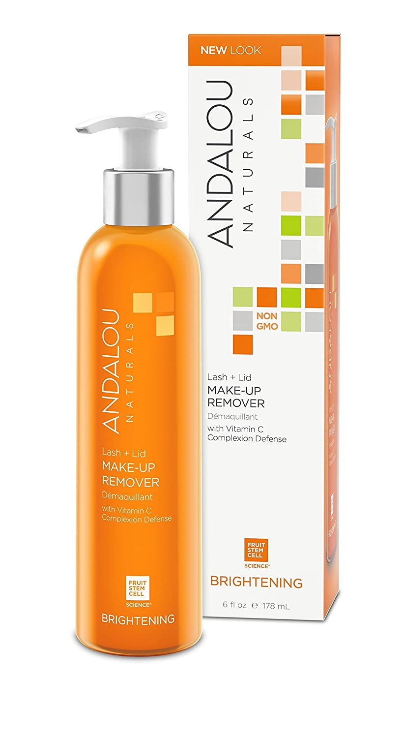 Andalou Naturals Lash + Lid Make-Up Remover, 6 Ounce