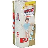 Goon Premium Soft Külot Bez, 5 Beden Aylık Ekonomik Paket 102 Adet
