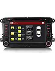 "iFreGo 7"" AUTORADIO Für VW Golf 5/6,Passat,Tiguan,Polo,Jetta,Skoda Fabia, Octavia,Yeti, Seat Leon,Touran,Candy, Sharan,EOS, 3G WiFi GPS Navigation NAVI USB SD Bluetooth DVD MP3+HD+7 LED"