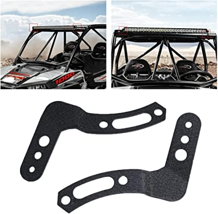 Fit POLARIS RZR XP 1000 /& 900S 32/'/' Curved LED Light Bar Roof Adjust Bracket Kit
