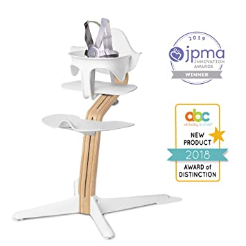 Prime Nomi High Chair White White Oak Wood Modern Scandinavian Design With A Strong Wooden Stem Baby Through Teenager And Beyond With Seamless Gmtry Best Dining Table And Chair Ideas Images Gmtryco