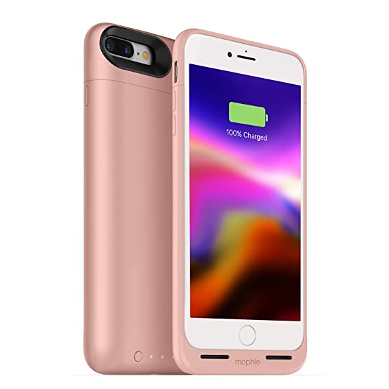 new styles 7e930 d283d mophie juice pack wireless - Charge Force Wireless Power - Wireless  Charging Protective Battery Pack Case for iPhone 8 – Rose Gold