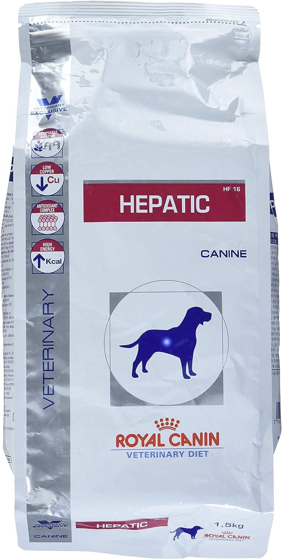 ROYAL CANIN Hepatic seco Perro kg. 1,5–Alimentos Cubos dietetici para Perros