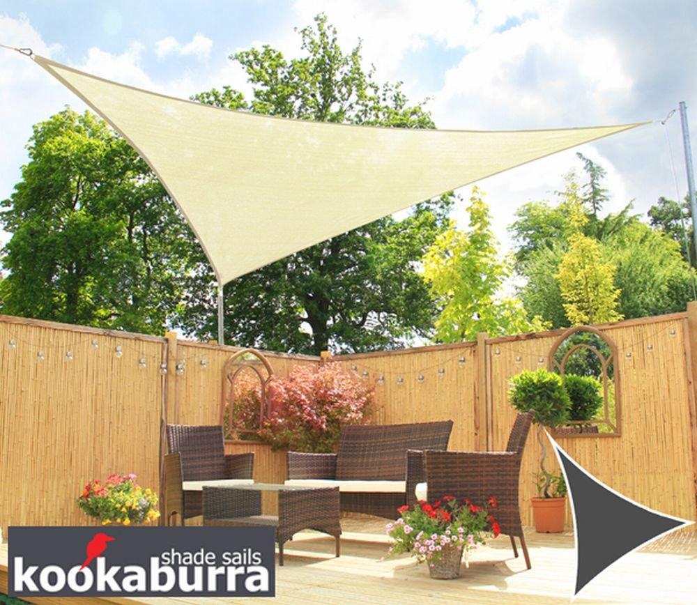 クッカバラ パーティセイルシェード 布帛 アイボリー 紫外線96.5%カット 耐水 OL0132SST (正三角形: 3 x 3m) B00D3KVXA0 11125 正三角形: 3 x 3m  正三角形: 3 x 3m