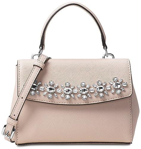 8f3822ef1f31 Michael kors Ava Jewel XS Extra Small Ballet Saffiano Leather Crossbody   Amazon.ca  Shoes   Handbags